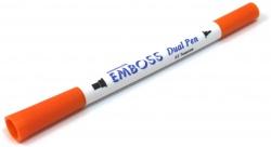 Emboss Dual Pen Orange