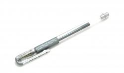 [K118] Pentel Hybrid Gel Grip Silver
