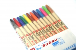 Magic Rushon Marker 12 Pack [M300C-12]