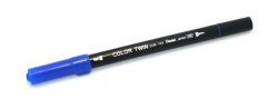Pentel Color Twin Blue