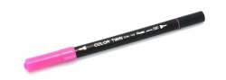 Pentel Color Twin Pink