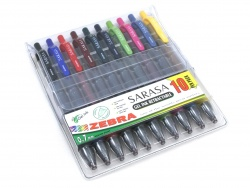 Zebra Sarasa Clip Gel Ink Retractable Pack